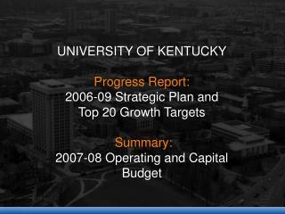 2006-09 Strategic Plan, Undergraduate Education