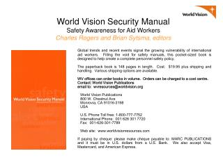 World-Vision-Security-Manual-Promo-Jan-2008