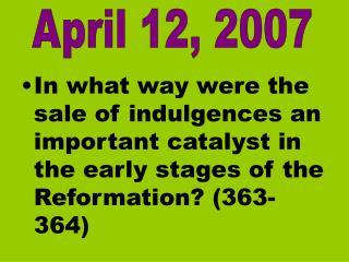 April 12, 2007