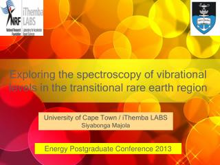 Exploring the spectroscopy of vibrational levels in the transitional rare earth region