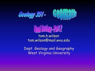 Geomath