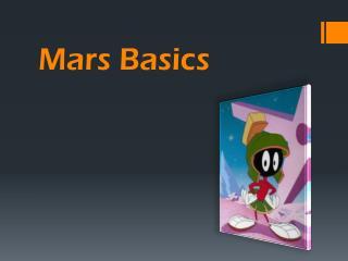 Mars Basics