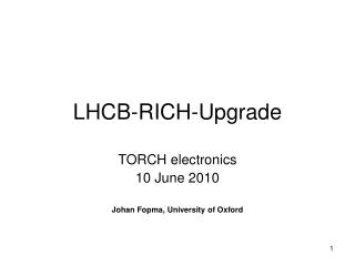 LHCB-RICH-Upgrade