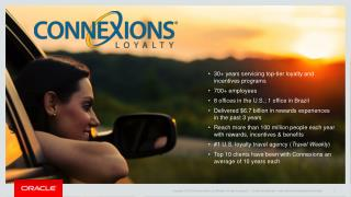 30+ years servicing top-tier loyalty and incentives programs 700+ employees