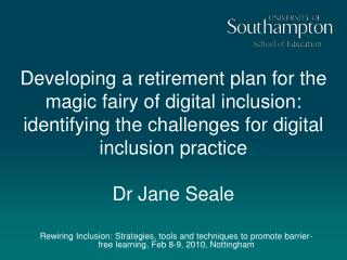 My Digital Inclusion Journey