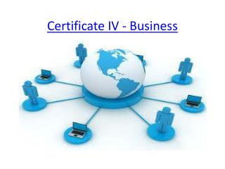 Certificate IV - Business