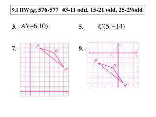 9.1 HW pg.  576-577    # 3-11 odd, 15-21 odd, 25-29odd