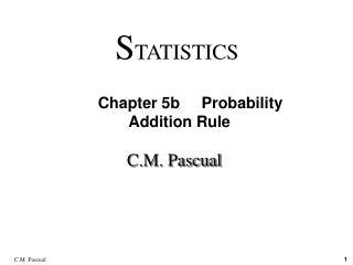 C.M. Pascual