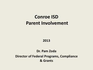 Conroe ISD   Parent Involvement
