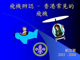飛機辨認 - 香港常見的飛機