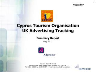 Cyprus Tourism Organisation UK Advertising Tracking