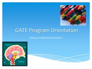 GATE Program Orientation