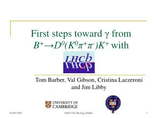 First steps toward  γ from  B + →D 0 (K 0 π + π - )K +  with