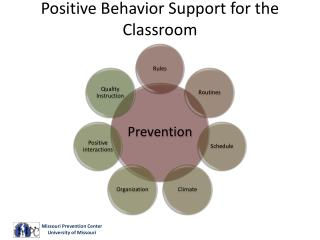 Positive Behavior Support for the Classroom