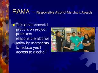 RAMA –  Responsible Alcohol Merchant Awards