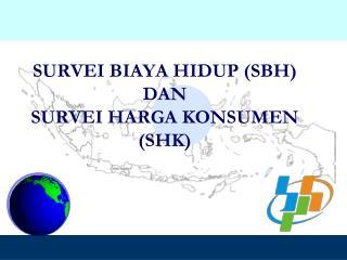 SURVEI BIAYA HIDUP (SBH) DAN SURVEI HARGA KONSUMEN (SHK)