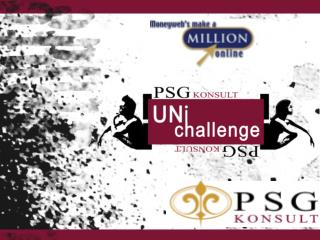 PSG  KONSULT sponsors 5 teams from 10 universities to