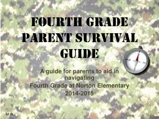 Fourth Grade  Parent Survival Guide