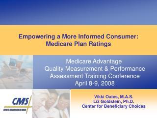 Goals of Medicare Plan Ratings