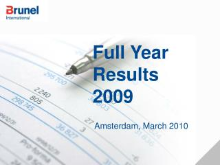 Full Year Results 2009