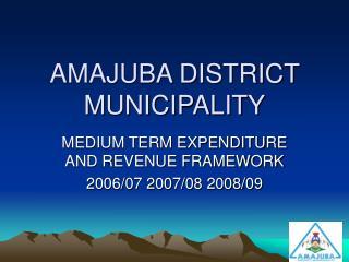 AMAJUBA DISTRICT MUNICIPALITY