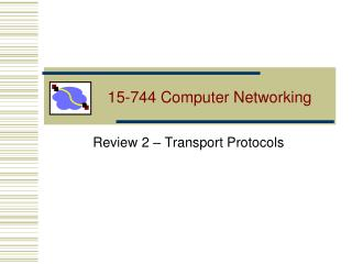 15-744 Computer Networking