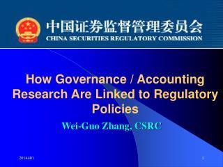 Wei-Guo Zhang, CSRC