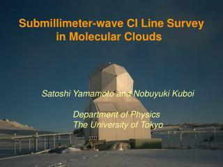 Satoshi Yamamoto and Nobuyuki Kuboi                Department of Physics