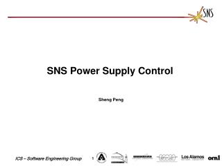 SNS Power Supply Control