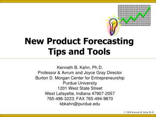 New Product Forecasting Tips and Tools