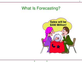What Is Forecasting?