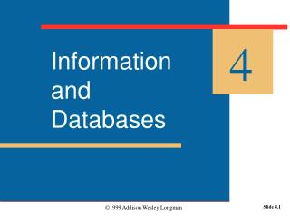 Information and  Databases