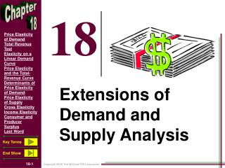 Extensions of Demand and Supply Analysis