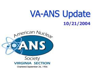 VA-ANS Update