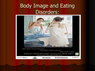 Body Image and Eating Disorders: