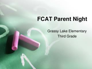 FCAT Parent Night