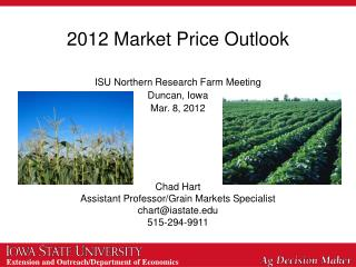 2012 Market Price Outlook