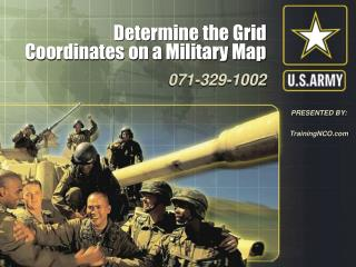 Determine the Grid Coordinates on a Military Map