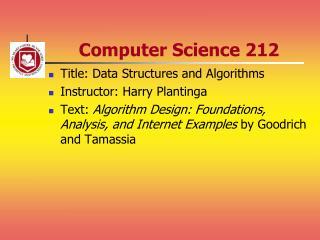 Computer Science 212