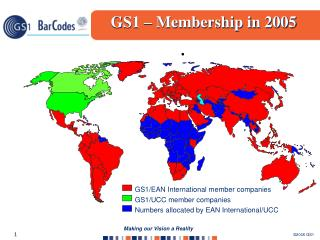 GS1/EAN International  member companies