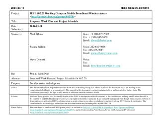 2004-03-11                                     IEEE C802.20-03/40R1