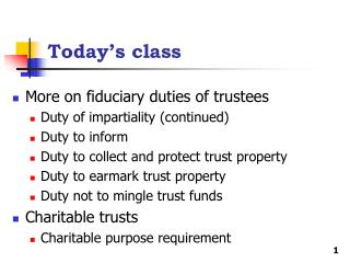 Today�s class