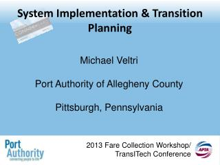 System Implementation & Transition Planning