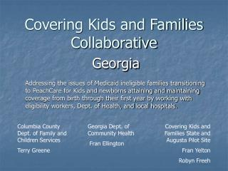 Covering Kids and Families Collaborative