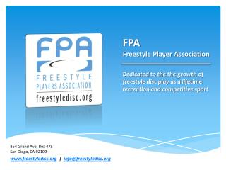 FPA Freestyle Player  Association