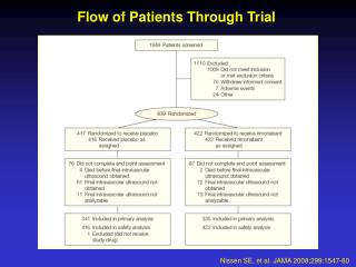 Flow of Patients Through Trial