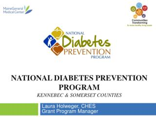 National Diabetes Prevention Program Kennebec & Somerset counties