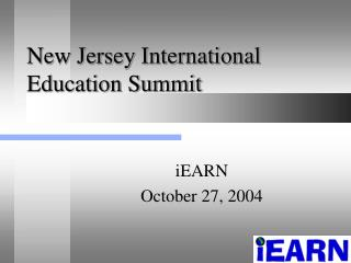 New Jersey International Education Summit