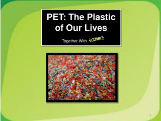 PET: The Plastic of Our Lives