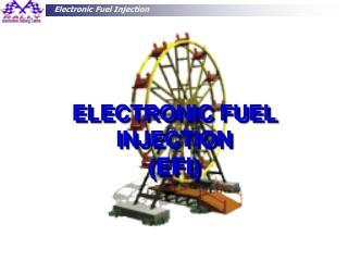 ELECTRONIC FUEL INJECTION ( EFI)